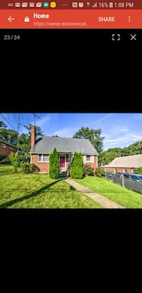 HOUSE Short Term For Rent 1BR 1BA( airbnb Hyattsville, 20785