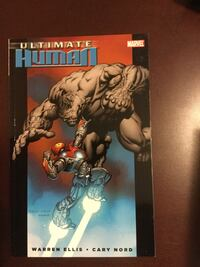 Marvel Ultimate Graphicnovels - iron man Spider-Man xmen