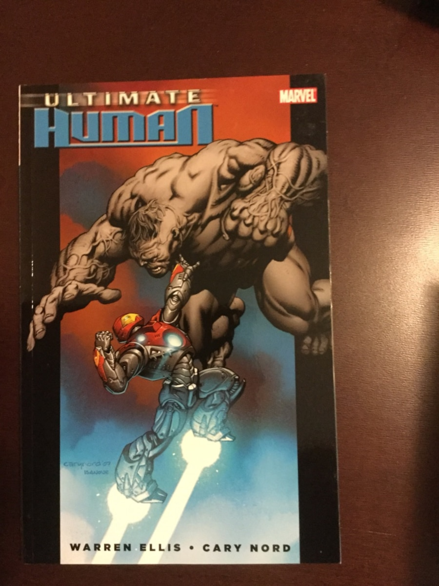 Marvel Ultimate Graphicnovels - iron man Spider-Man xmen - Lake Forest
