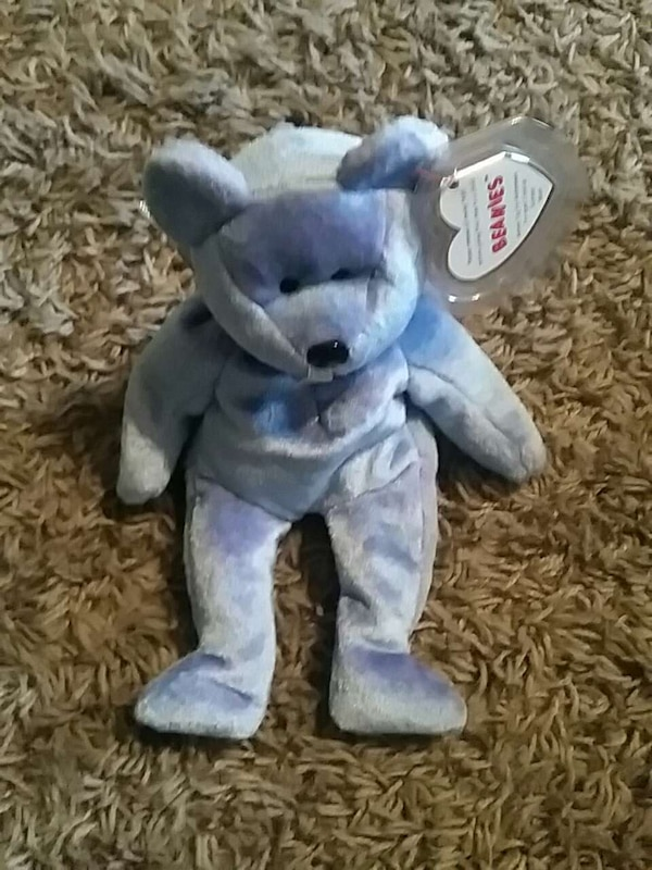 05c36378ba3 Used purple and blue ty beanie baby bear for sale in Muncie - letgo
