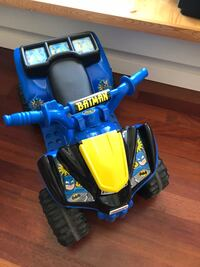 Toddler's black and blue ride-on atv Surrey, V3Z 9S9