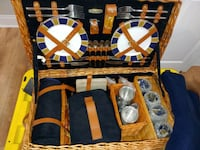 Picnic basket with accessories for 4 Spring House, 19002