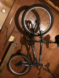 black and gray hardtail mountain bike Fort Smith