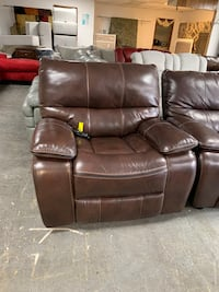 Brown Leather Power Reclining Chair Jacksonville, 32218