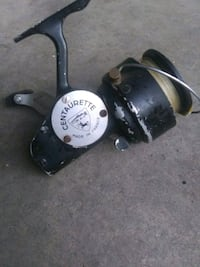 Antique made in france and japan fishing reels