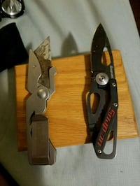 Knives snap on and gerber