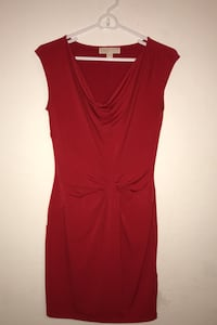 Michael Kors Red Short fitted dress