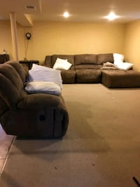 Sectional couch set and Washer and Dryer set Rockville
