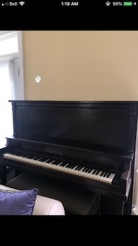 Ennis & Co Wooden Grand Piano Waterloo