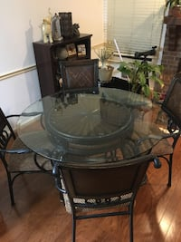 Glass Table w/ Chairs