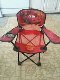 Red and black camping chair  Springfield