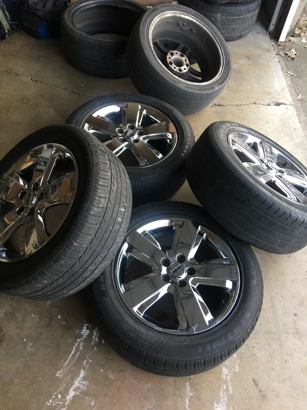 Used Lincoln Ls 17 Chrome Wheels For Sale In Indianapolis Letgo