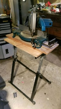 black and brown table saw 420 mi