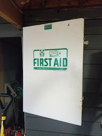 First aid metal box  Lebanon, 17046
