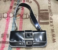 black and brown leather shoulder bag Barrie, L4N 5G8