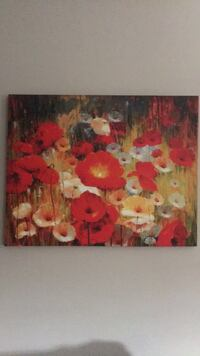 red and yellow flower painting Stafford, 22556