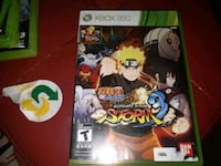 Xbox 360 Naruto Storm 4 game case Waterloo, N2J 2A2