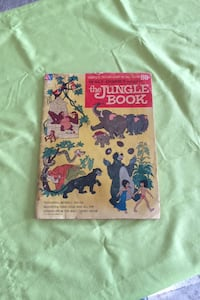 Disney 1967 jungle book collectible comic Oklahoma City, 73135