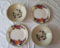 2 Pc Big Soup Bowl and 2 Dinner Plates Bowie, 20715