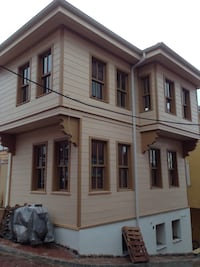 Brown wooden house