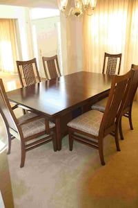 Solid cherry dining set GAINESVILLE