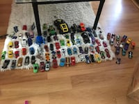 assorted die-cast car