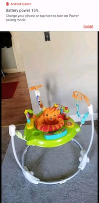 baby's green and red jumperoo Woonsocket, 02895