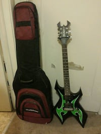 BC Rich Warlock electric guitar with case Concord, 94519