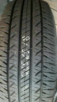2 tires 1 Kelly and 1 good year 265 65 18