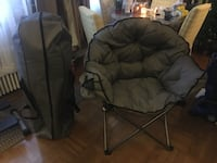 Large camping chairs (2)