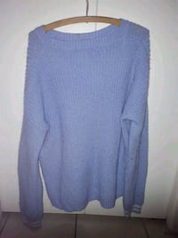 women's blue sweater Surrey, V3T 1V5