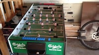 green and black foosball table Mississauga, L5W 1T4