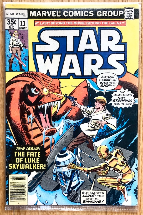 MAY 1978 STAR WARS (The Fate of Luke Skywalker) #11,Comics Çizgi Roman 232b996c-8644-46f3-af89-149b3b68e8c8