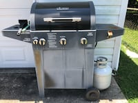 Black and gray gas grill Gretna, 70053