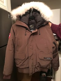 Canada Goose Brown Bomber Jacket London, N6G 1H6