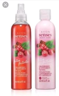 Cranberry Cinnamon Body Lotion and Body Spray. Edmonton, T6M 2G7