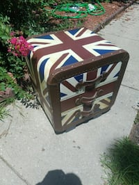 Antique looking box. Fayetteville, 28304