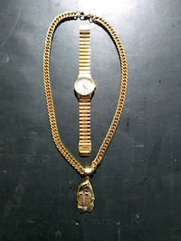 Gold Citizen watch and Gold Chain w/ Reaper  Baywood-Los Osos, 93402