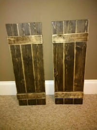 two brown wooden boards Warner Robins
