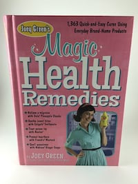 Book, John Green - Magic Health Remedies Mantua, 08051