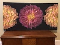 2 Flower Canvas Pictures Greensboro, 27455