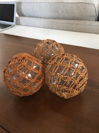 Hard to let these go! Pier one imports decorative balls. 12$ for 3. Open for negotiations  Oceanside, 92057