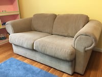 gray fabric 2-seat sofa Alexandria, 22305