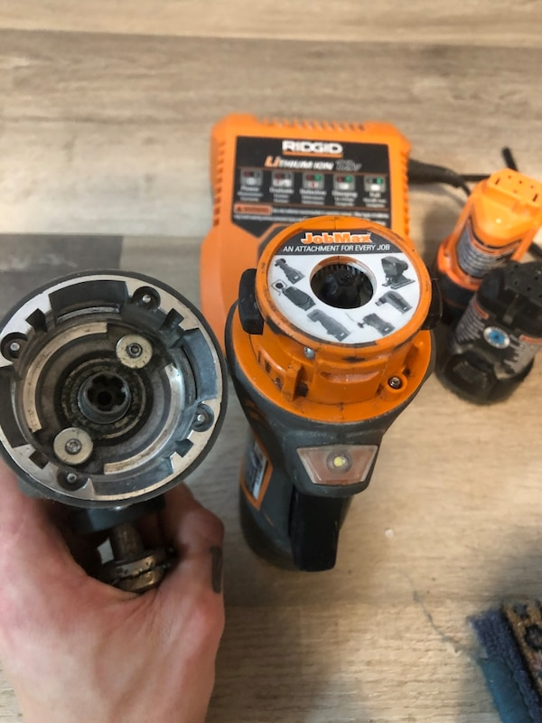 Ridgid multi tool full kit 2