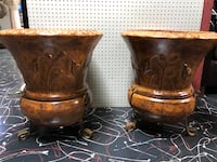 Large Clay Pot with Stand Springfield