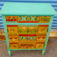 "Pier One Imported ""Janta"" Cabinet Gloucester"