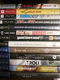 assorted Sony PS3 game cases Lake Elsinore, 92530