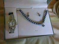 GREY PEARLS WITH WATCH,NOT REAL PEARL'S Brampton, L6S 2B3