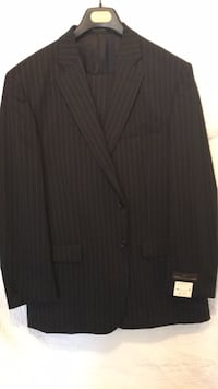 black notched lapel suit jacket Washington, 20024