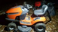 orange and white ride on lawn mower Lake Ridge, 22192